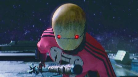 女孩被改造成半人半机器人,一个眼神就能抵御炸弹,最新科幻电影