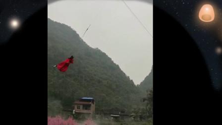 歌舞杂技《空中飞人》宜州祥贝世外桃园表演实录