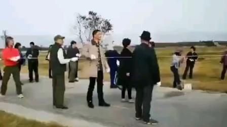 杭州龙形风筝放飞成功