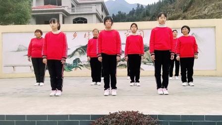 怀化溆浦正宁艺术团表演抒情舞蹈《来生再续缘》