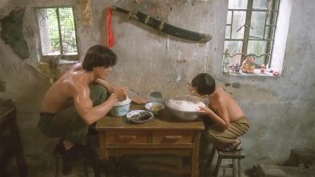 父子俩武功盖世,饭量也是大的惊人,没胃口竟然还用脸盆吃!