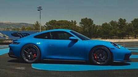 2022 保时捷 911 GT3 展示