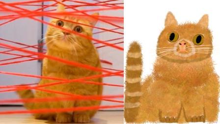 让网友画了上百幅我家猫以后,我不认识猫了…
