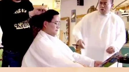 你们见过有人自学理发,拿仙人掌练手的吗