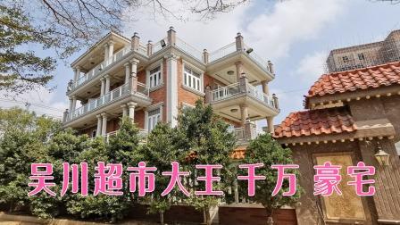 实拍广东湛江港丰老板的豪宅,耗资千万打造,别墅霸气如皇宫