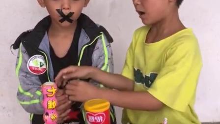 欢乐亲子:弟弟的嘴巴怎么了