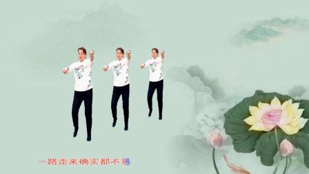 梦中的流星广场舞《陪你到底》舞蹈:海英