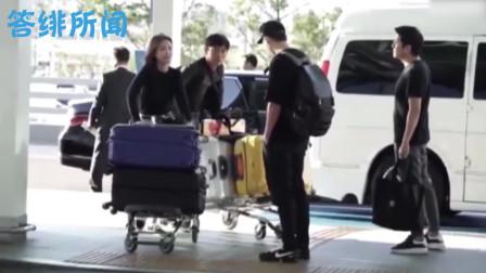 玄彬机场偶遇到孙艺珍,谁注意到他下意识举动?喜欢装不出