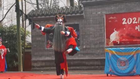 《牧虎关》。李正良主演,郫县振兴川剧团2021.02.17望从祠春节公演。
