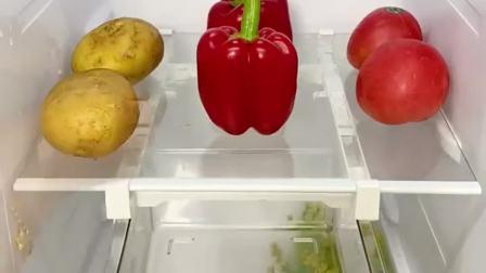 家里冰箱空间小的,一定要来一个冰箱收纳盒