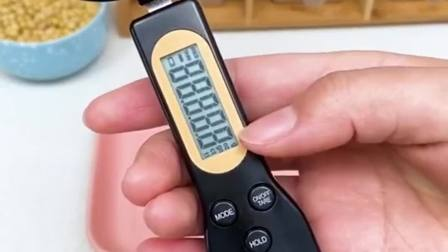 有了这个计量勺,用量一目了然,再也不担心放多放少了!