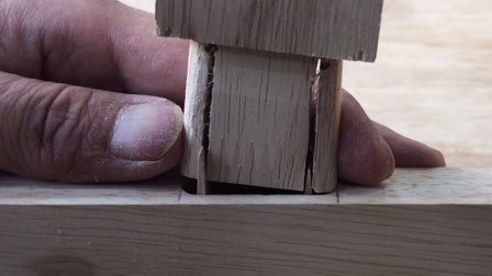 佩服古人的智慧,木匠用的膨胀木销越敲越紧,简单实用