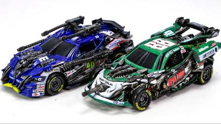 变形金刚工作室系列重涂漆和贴花上衣赛车机器人玩具