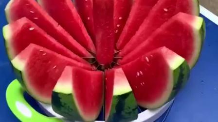 好物分享:切西瓜神器,中间精华部分,才是我的最爱
