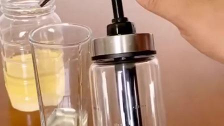 好物分享:蜂蜜按压罐 按压蜂蜜耗油番茄酱也可以