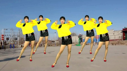 网红舞《躁动的心狂野的跳》32步好看,跳出好身材