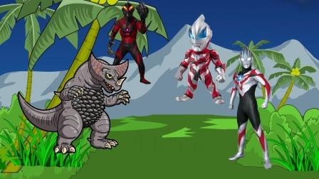 奥特曼和怪兽都需要帮助,你们愿意帮助谁呢?