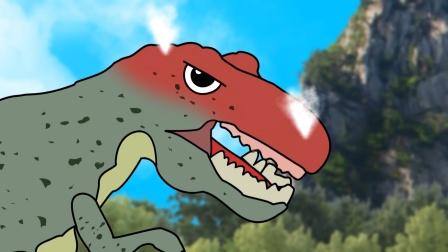 5只小恐龙大冒险 上集 恐龙动画 有趣的恐龙世界
