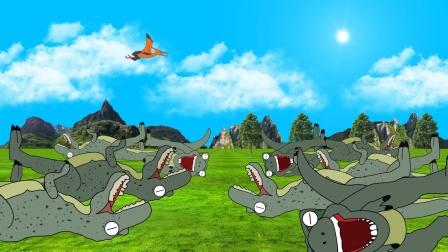 恐龙时代的巨型犀牛甲虫 上集 恐龙动画 早教启蒙益智