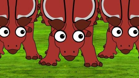 恐龙时代的巨型犀牛甲虫 下集 恐龙动画 早教启蒙益智