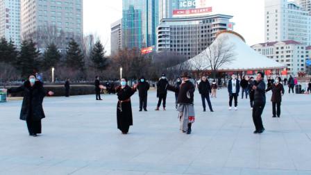 西宁市中心广场锅庄舞(160)赡养父母