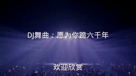 DJ舞曲:愿为你跪六千年