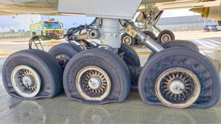 如何给飞机更换轮胎?工作量巨大,看完后长见识了