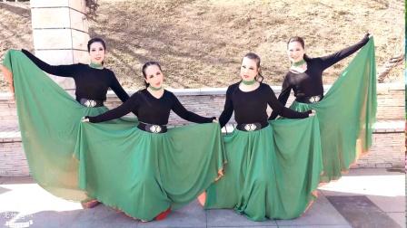西安亲青毛妹四人版舞蹈 可可托海的牧羊人