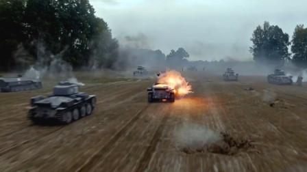 超级火爆刺激的二战高分电影 地毯式轰炸场面极致震撼!