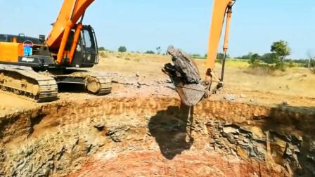 趣味益智玩具 长臂挖掘机挖大坑