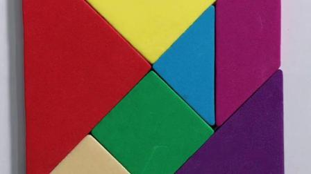 七巧板是小学一二年级数学的必学内容