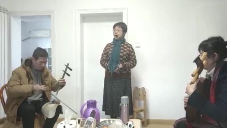 """京剧《沙家浜》选段""""定能战胜顽敌渡难关~"""""""