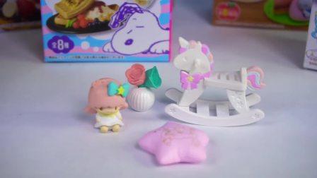 儿童亲子互动,芭比娃娃屋迷你食品,太有意思了