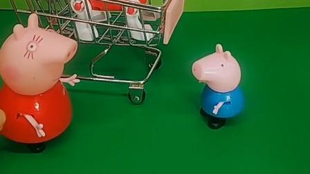 猪妈妈太偏心,只陪自己的小狗狗,不陪乔治玩