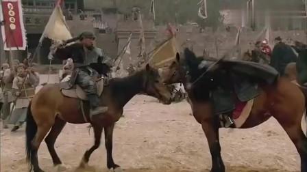 水浒传:豹子头林冲马上称王,霸气长枪一挥,又有几人能敌?