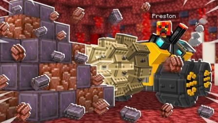 小泡我的世界虚无世界3:一口气挖到一筐钻石,我可能要发财了!
