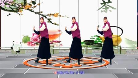 梦中的流星广场舞《好运来》舞蹈:麦香