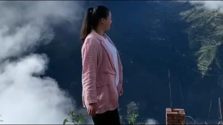 藏族姑娘的云端生活,