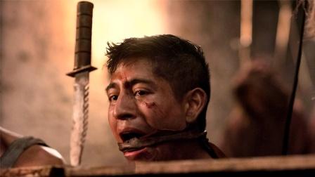 2021美国惊悚片《致命弯道重启版》,滚树桩砸脑袋,全部干翻
