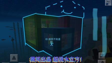 微笑出品水立方!全字幕爆肝!超级简单,水下火柴盒别墅可还行 网友 所有建筑放到水里都提升了三个档次。