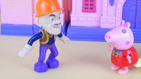 小猪佩奇和光头强的趣味对话