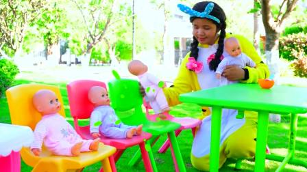 儿童亲子互动,玩具宝宝过家家厨房玩具,有趣又好玩