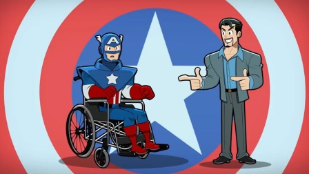 美国队长瘫痪,钢铁侠为其量身打造,最牛高科技战衣!