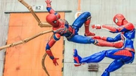 蜘蛛侠玩具动画:蜘蛛侠的战甲失控