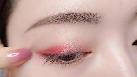 新手眼影化妆教程,手把手教你