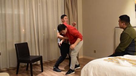 10秒身法演示,形意拳开肩的力量与速度