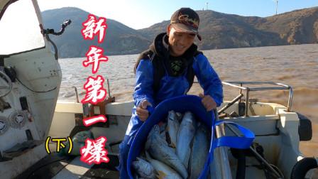 阿杰年后第一次出海,海货饿疯了狂咬鱼钩,首战鱼货直接破5000块
