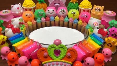 太神奇了!用65种创意玩具混泥,无硼砂超惊艳