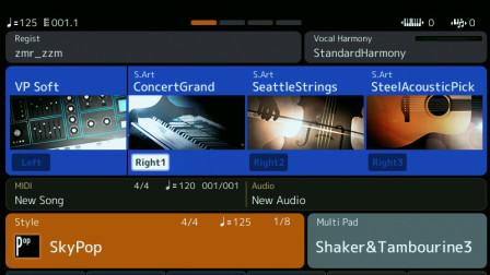 连接电脑和音序器软件--雅马哈SX900、SX700编曲键盘视频操作讲解(6)