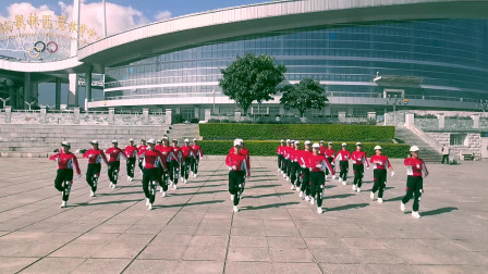 云南大理云之炫舞健身队学习跳跳乐第21套晓敏快乐健身操 第4节 对面的小姐姐